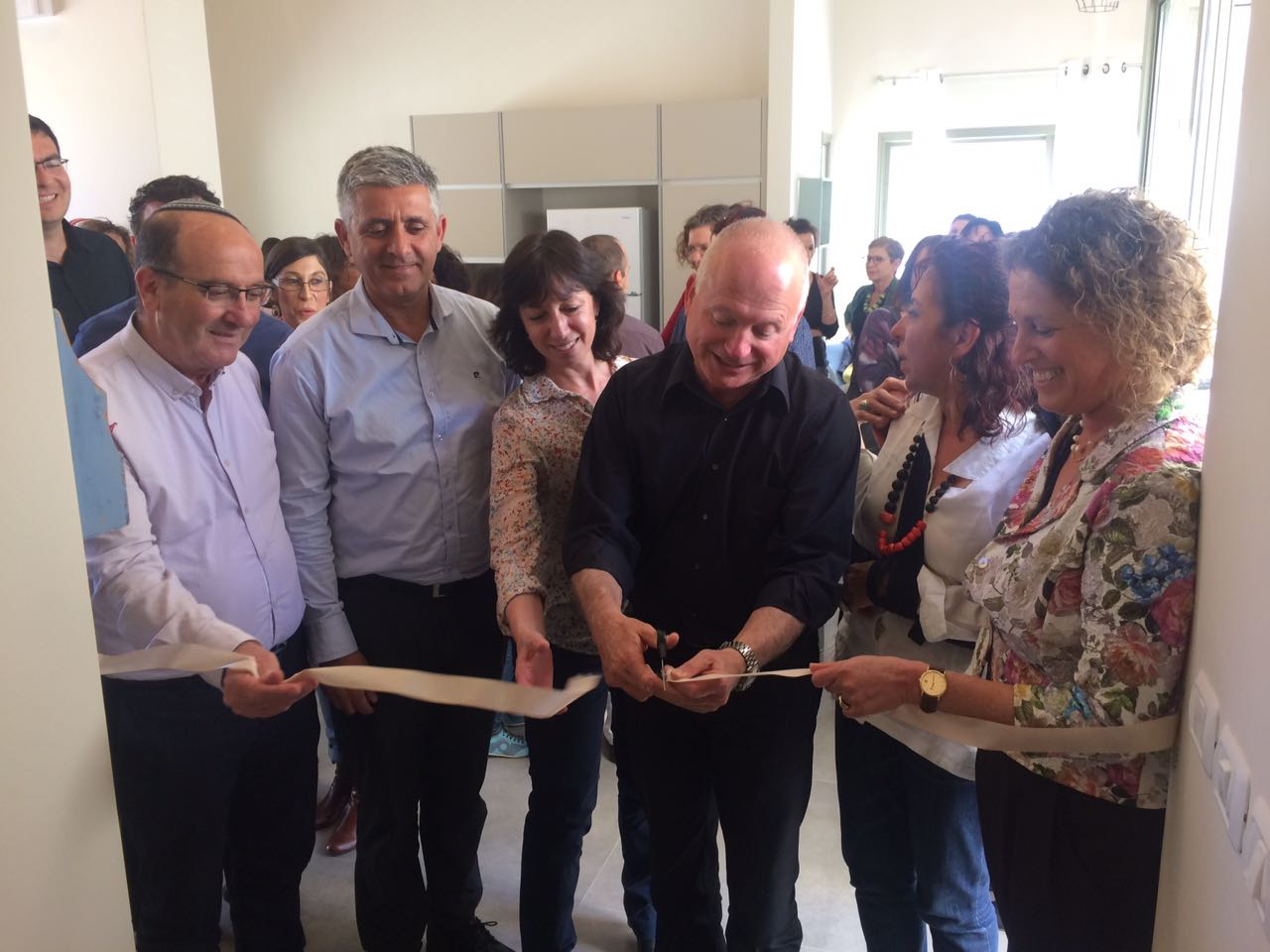 Opening ceremony of the Galil-Golan Kerem Center