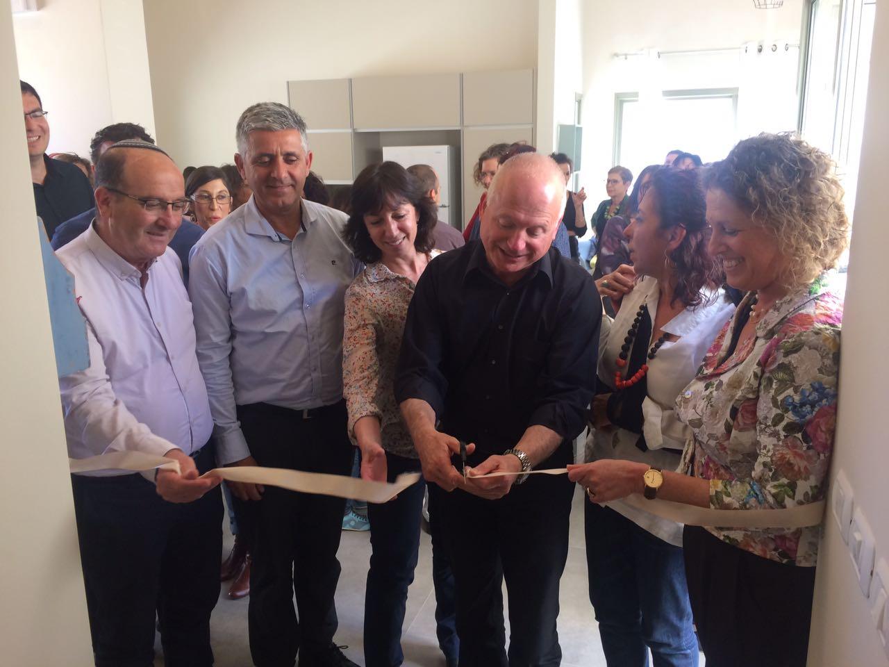 Opening ceremony of the Galil-Golan Kerem Center